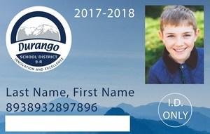 Photo of student ID.