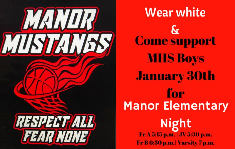 Manor Elementary Night at the High School Thumbnail Image