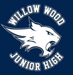 Willow Wood Junior High wildcat logo