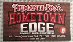 Hometown Edge community fundraising program.  We are Team B