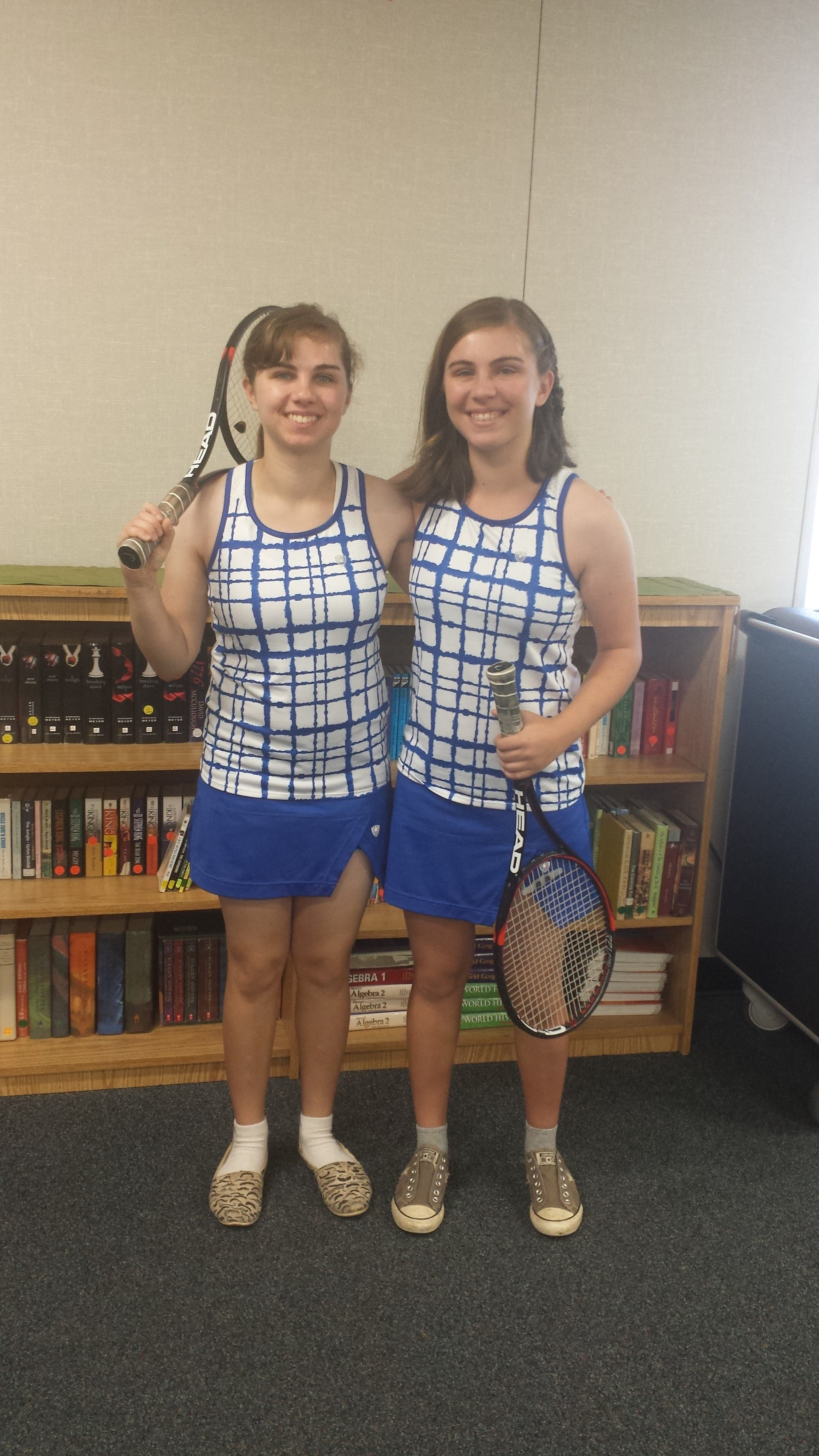 Serrano tennis players