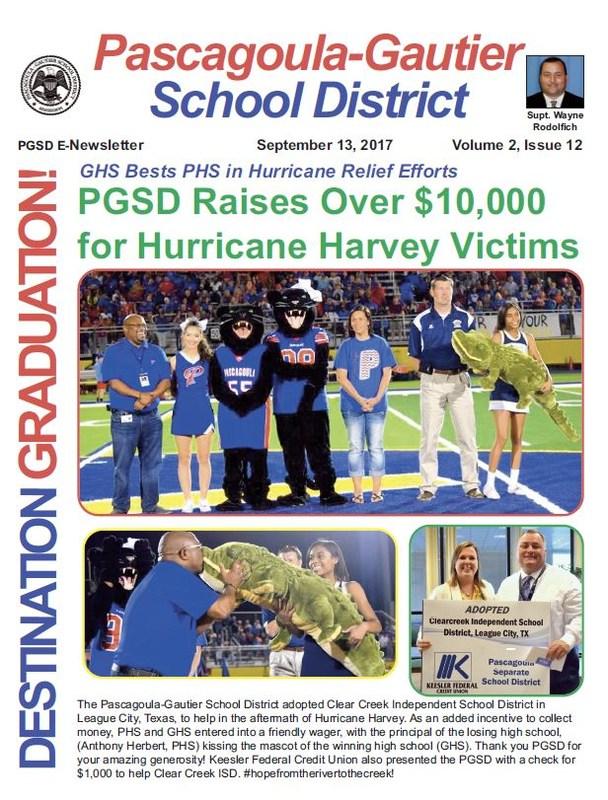 PGSD eNewsletter; Volume 2, Issue 12
