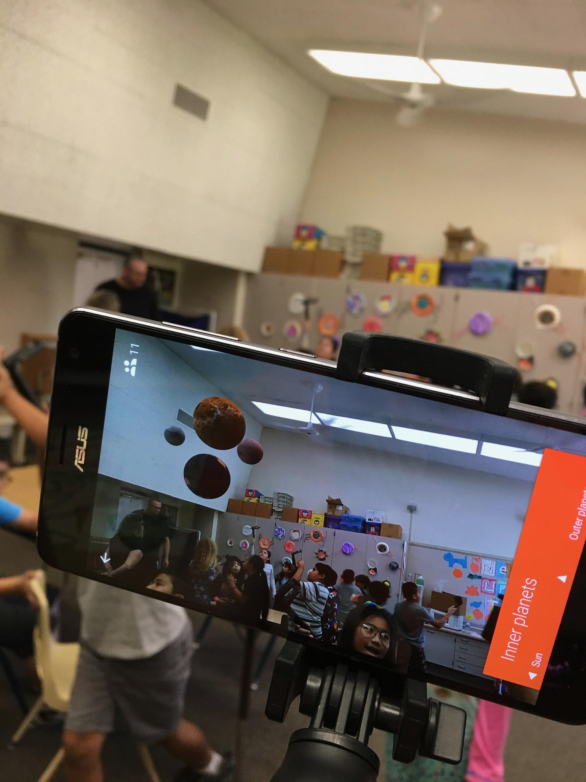 Google Augmented Reality