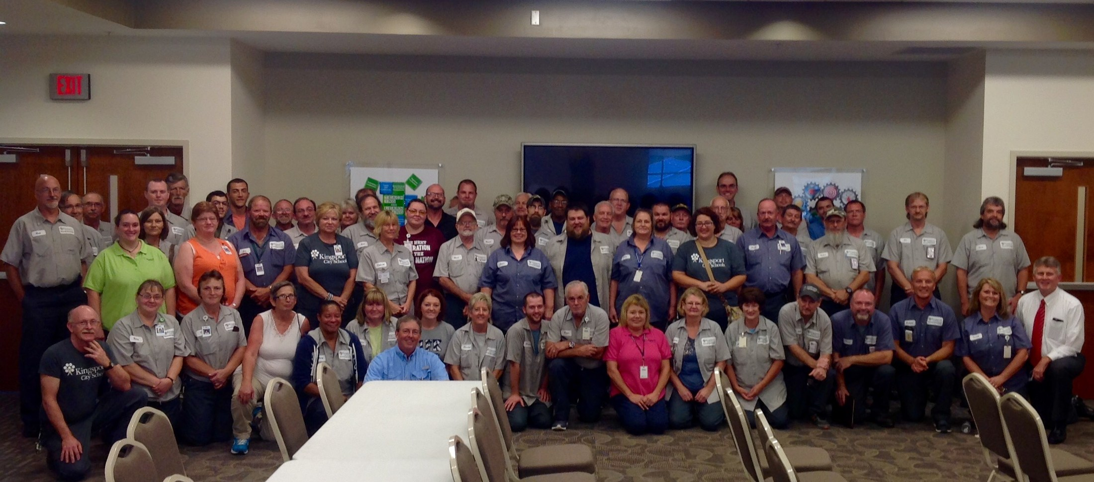 Custodial Services group photo