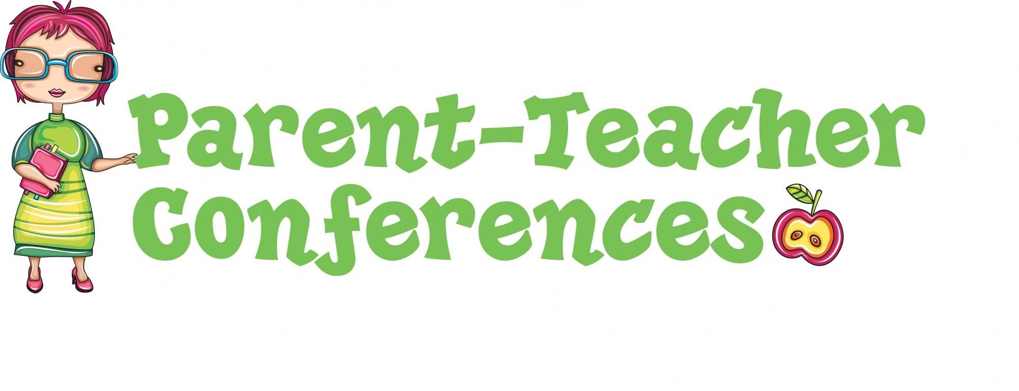 Clip art title Parent Teacher Conferences