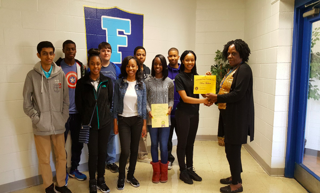 Delois Wallace Honored by Beta Club at FWCHS Thumbnail Image
