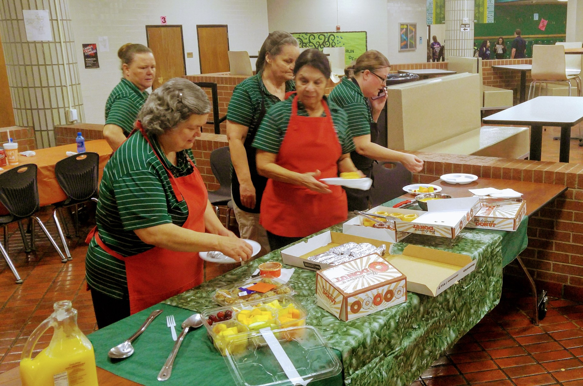Cafeteria Workers' Appreciation Day