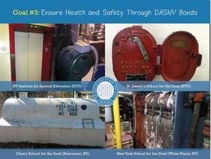 Goal #3 – Ensure Health and Safety Through DASNY Bonds