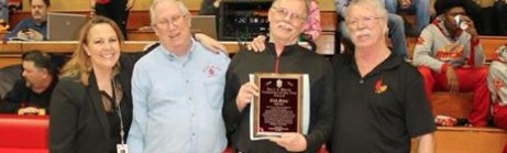 Alum Awarded with Volunteer of the Year Featured Photo