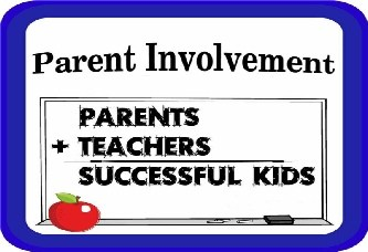 Parent Involvement; parents plus students equals successful kids
