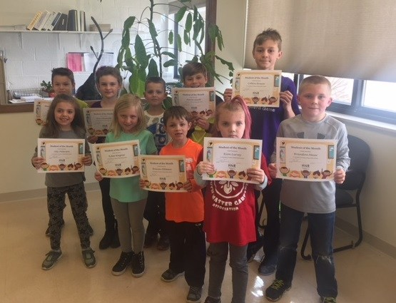 CONGRATS to our MARCH Students of the Month! Featured Photo
