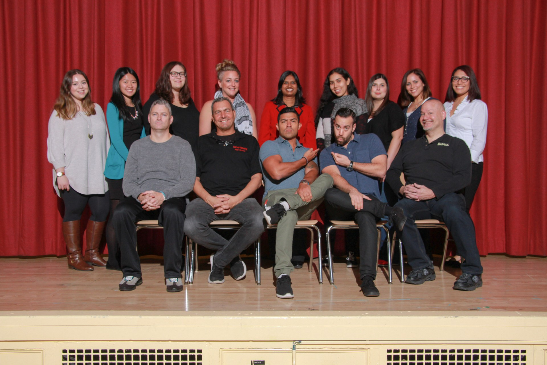 Staff members of the English Department.