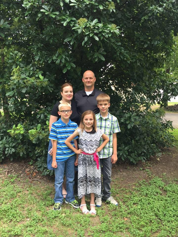 Blalock Family after church