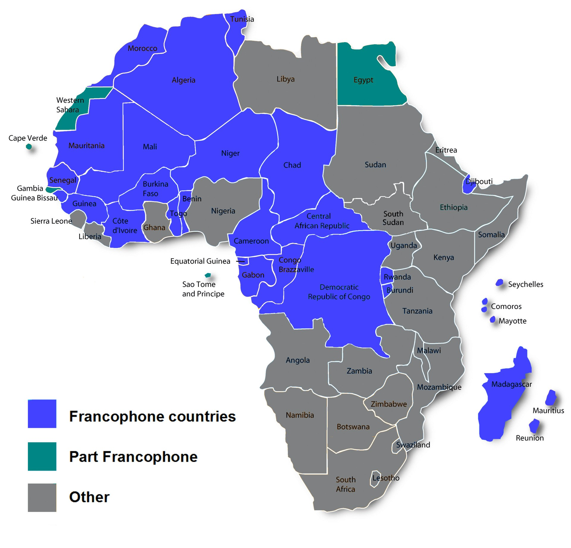 Francophone African countries