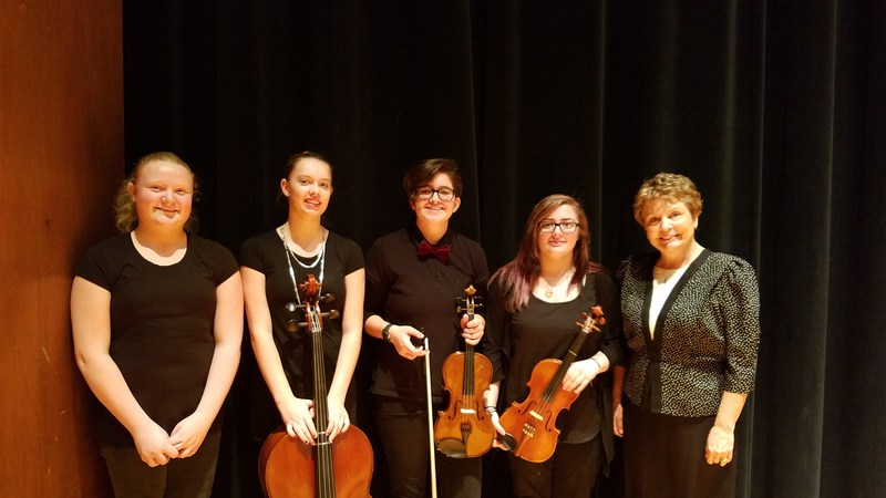 Syringa students perform in the Southwest Idaho Middle School Honor Orchestra! Thumbnail Image