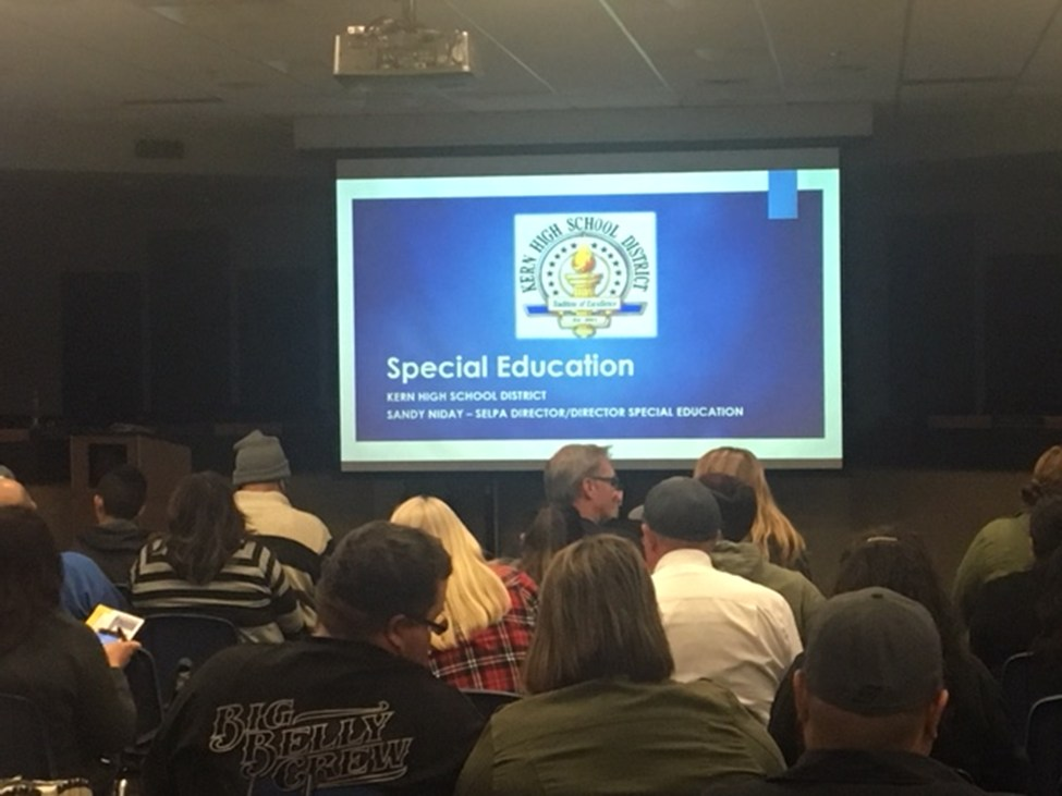Incoming Freshman Special Education Services Parent Information Night