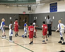 Little Stars Basketball vs. St Gabriel