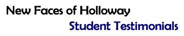 Holloway Student