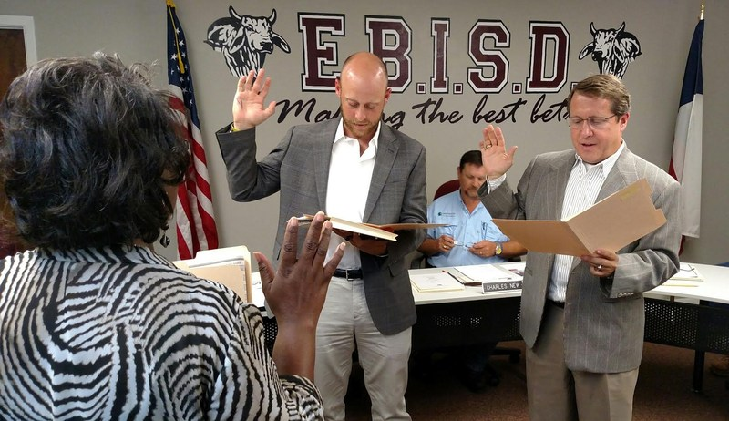 EBISD Board of Trustees Swears In Two Thumbnail Image