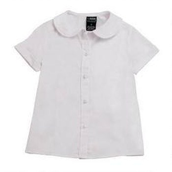 girl's white top