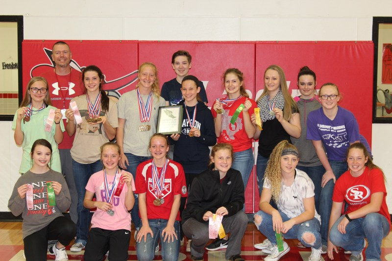 8th Grade Girls District Champions