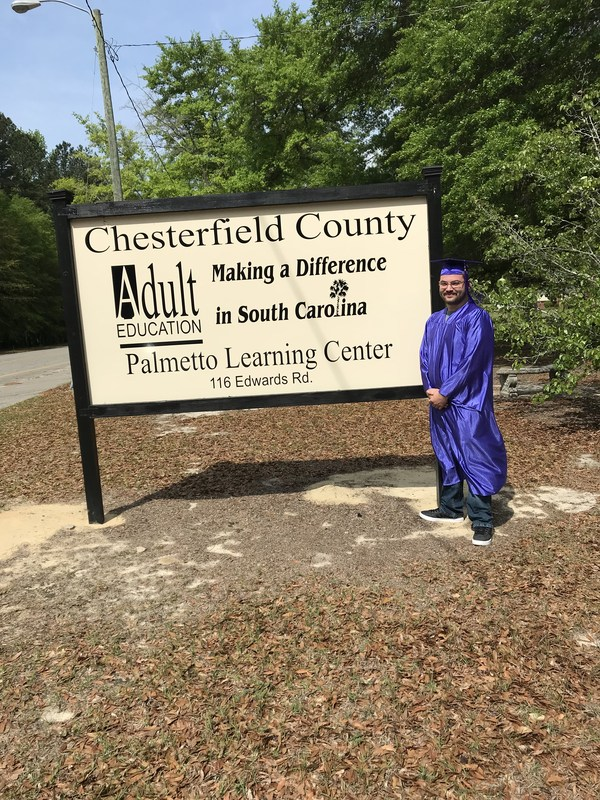 Chesterfield County Adult Education Graduate Featured Photo