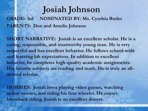 scholar Josiah Johnson