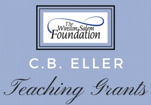 C. B. Eller Teaching Grants Header with the Winston-Salem Foundation Logo