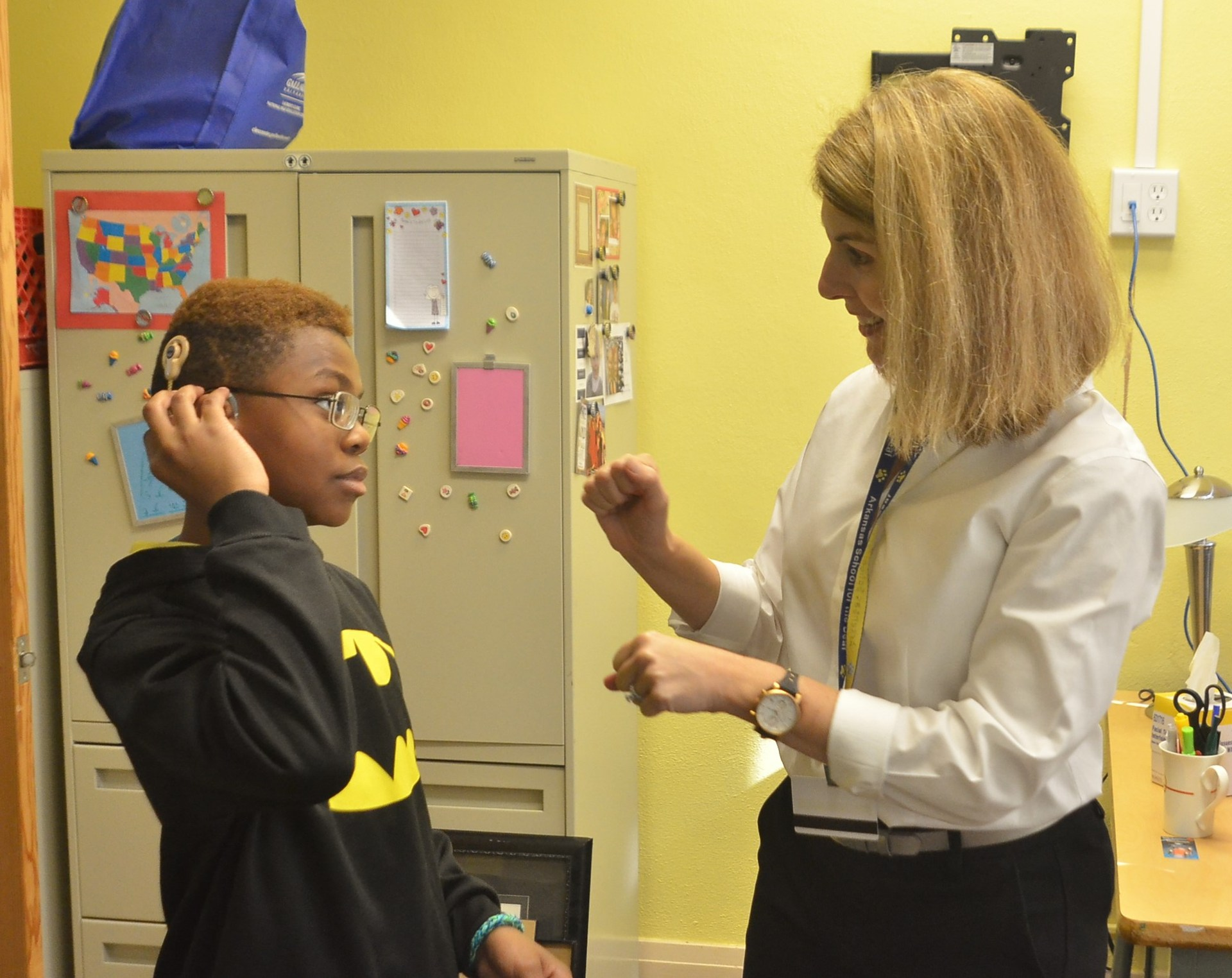 Audiology Support Arkansas School For The Deaf
