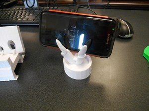 Custom 3D printed phone holder