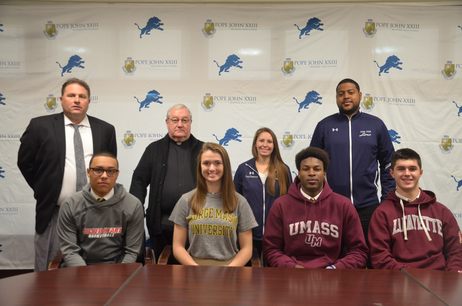 Student-Athletes signing National Letters of Intent