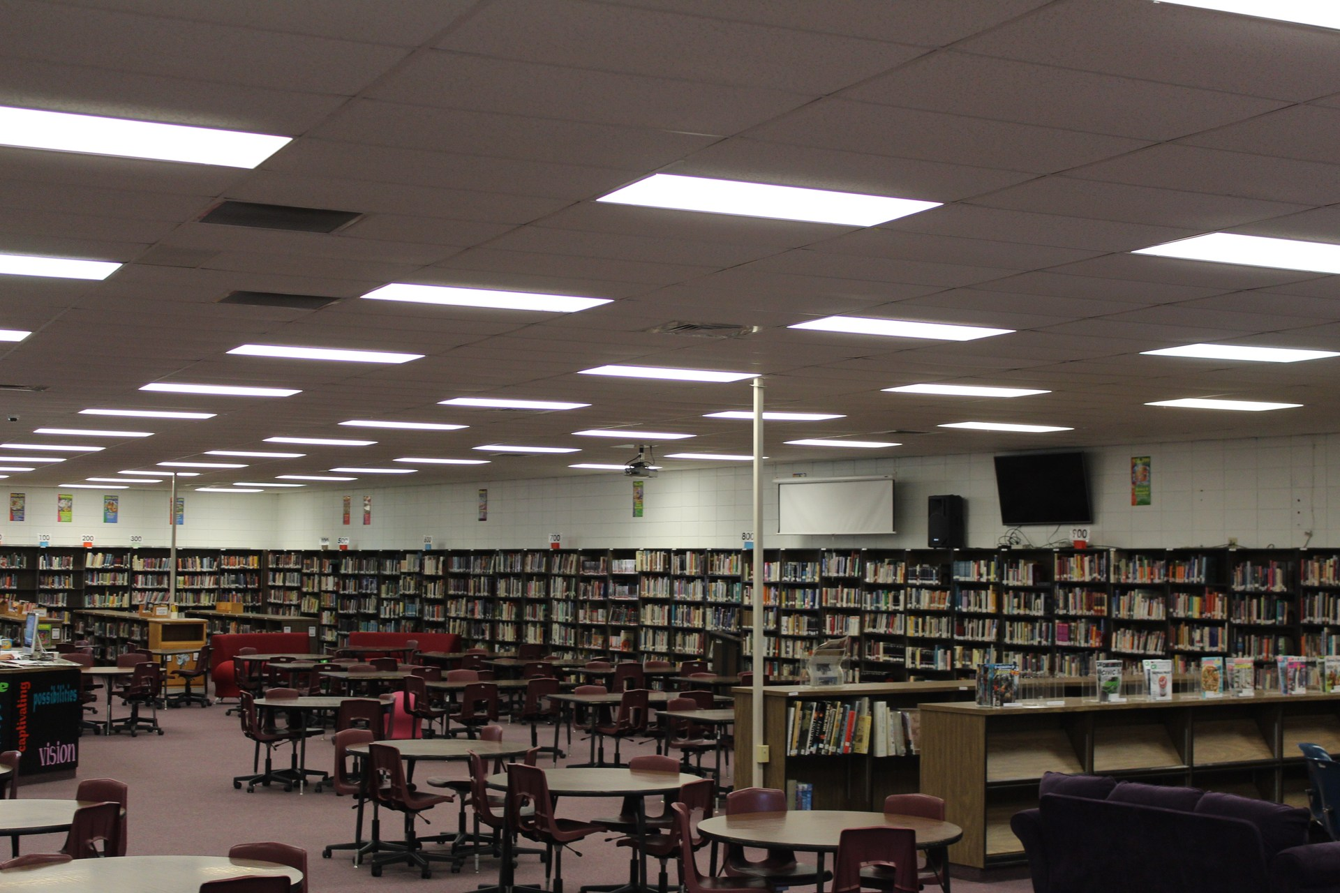 HHS Library View