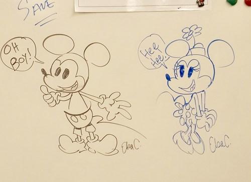 Disney animator presentation - Career Day