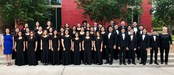 VMHS Varsity Mixed Choir at the UIL Concert and Sight-Reading competition.