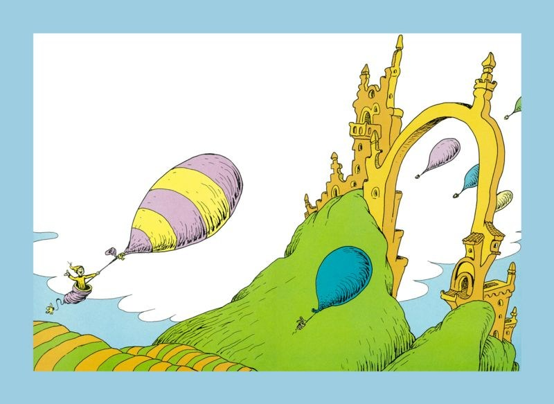 'You have brains in your head. You have feet in your shoes. You can steer yourself any direction you choose.'     Dr. Suess