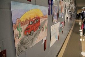 A students' artwork =