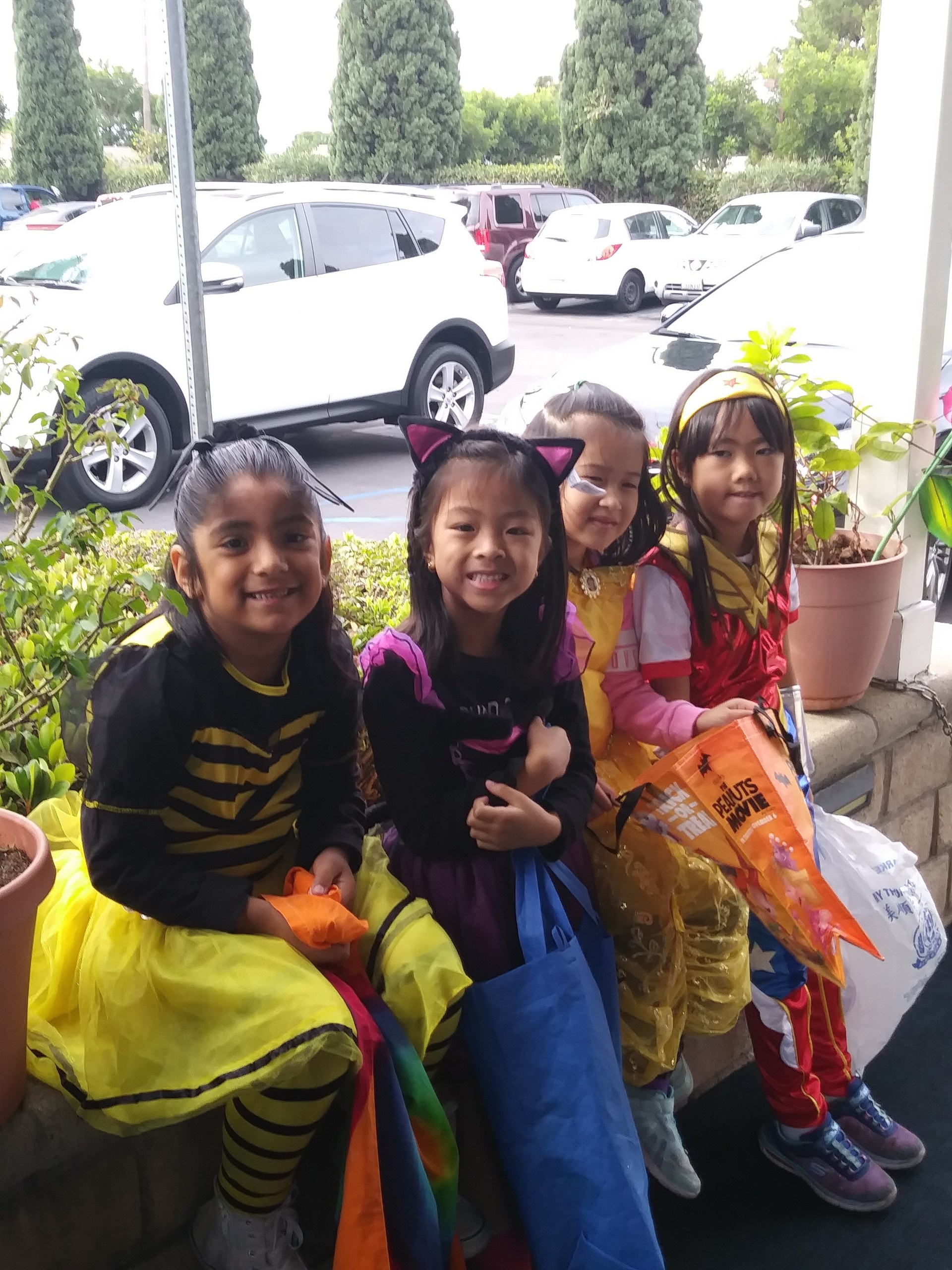 Halloween Visit