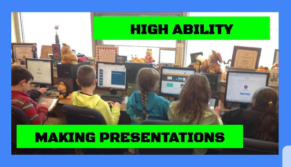 High Ability Students learning presentation