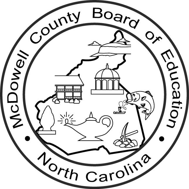McDowell County Board of Education Seal Logo
