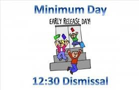 THE LAST DAYS OF SCHOOL ARE MINIMUM DAYS Featured Photo