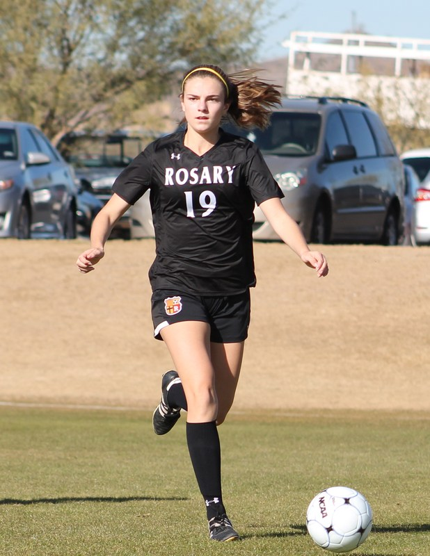Rosary's soccer captain featured in OC Catholic Featured Photo