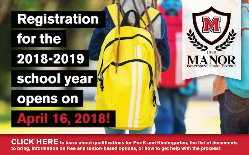 New Student Registration Is Now Open 16 for 2018-19 School Year Thumbnail Image