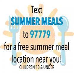 Summer Meals Text 97779