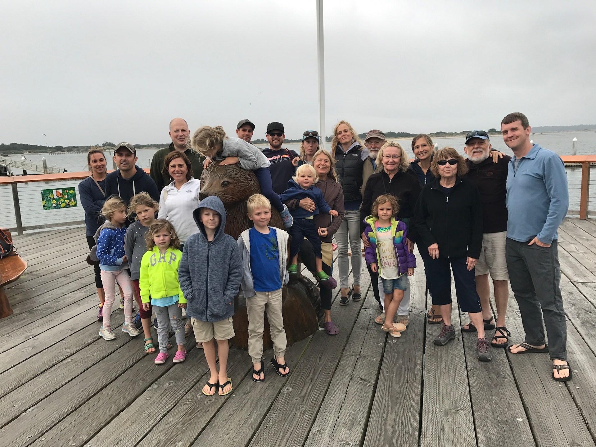 Family reunion in Oregon