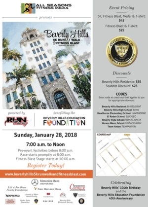 Beverly Hills 5k Run/Walk & Fitness Blast