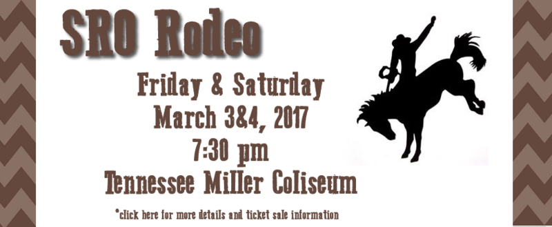 SRO Rodeo March 3rd & 4th Thumbnail Image