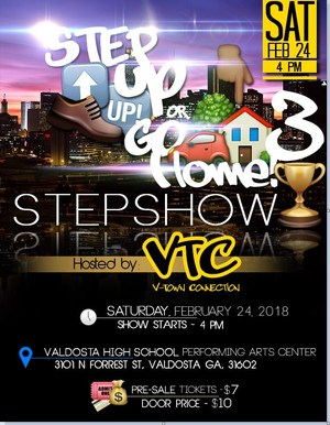 VTC Step Show Flyer 2018