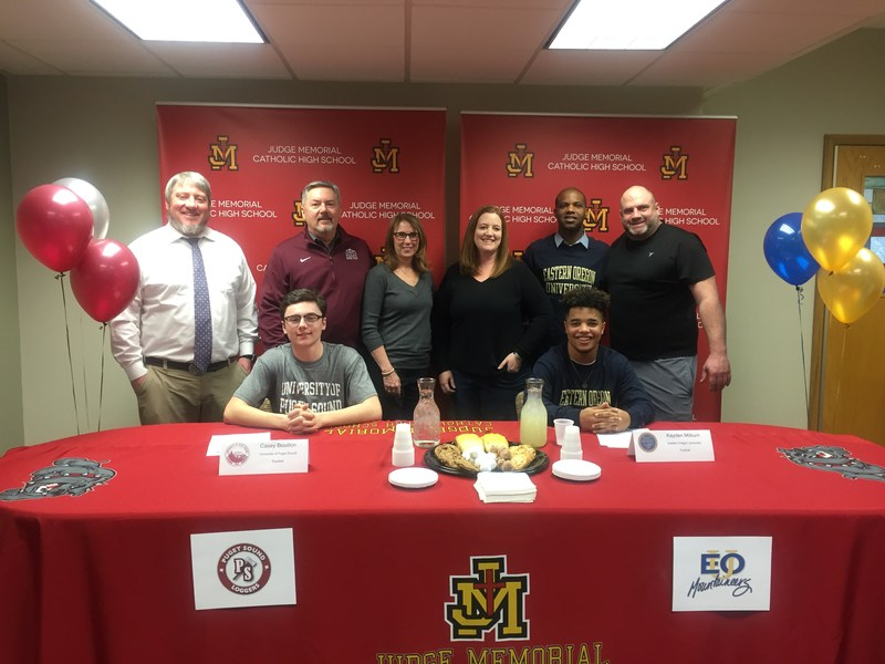 Judge Memorial Football Seniors On National Signing Day 2018 Featured Photo