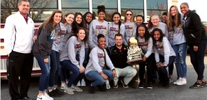 Riverdale Lady Warriors basketball team