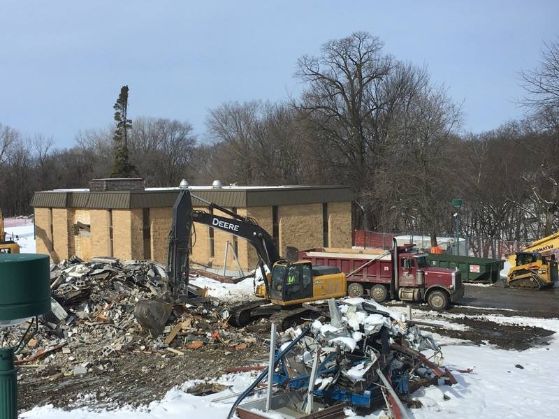 Demolition of Frechette Hall, our old boys' dorm, will begin February 22, 2017. Thumbnail Image